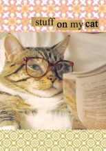 Garza, Mario Stuff on My Cat Journal [With Stickers]