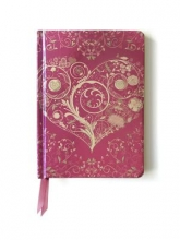 Flame Tree Wild Pink Hearts. (Contemporary Foiled Journal)
