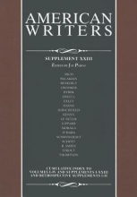 Parini, Jay American Writers, Supplement XXIII