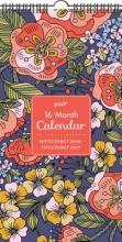 Posh Folksy Flora 2018-2019 Calendar