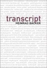 Backer, Heimrad Transcript
