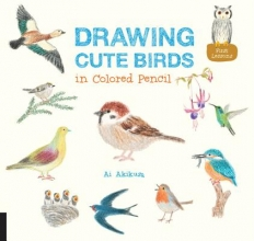 Akikusa, Ai Drawing Cute Birds in Colored Pencil