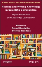 Kembellec, Gérald Reading and Writing Knowledge in Scientific Communities