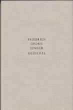 Jünger, Friedrich Georg Gedichte