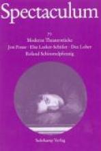 Fosse, Jon Spectaculum 72. Vier moderne Theaterstücke und Materialien