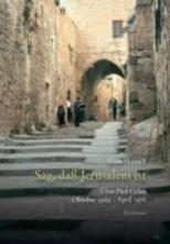 Shmueli, Ilana Celan-Studien. Neue Folge Sag, da Jerusalem ist