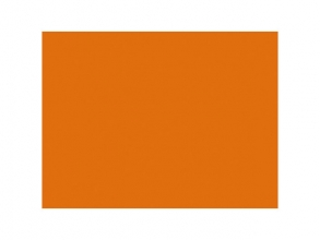 , etalagekarton Folia 48x68cm 380gr pak a 10 vel fluororanje