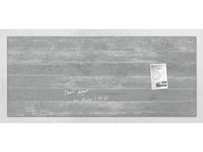 , glasmagneetbord Sigel Artverum 1300x550x15mm Betondesign