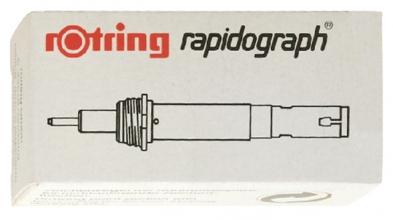 , Tekenkop rOtring 755025 rapidograph 0.25mm wit