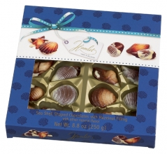 , geschenkdoos Hamlet chocolade zeevruchten