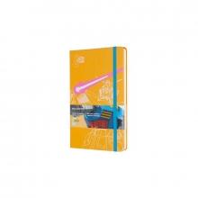 , Moleskine LE Notitieboek Gundam Large (13x21 cm) Gelinieerd Yellow