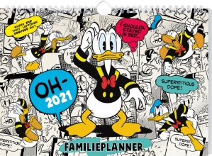 , FAMILIEPLANNER 2021 DONALD DUCK  - FSC MIX CREDIT