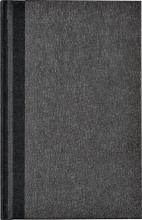 , Notitieboek Octavo met alfabet 103x165mm 192blz gelinieerd grijs gewolkt