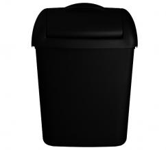 , Afvalbak Euro Hygienebak 8 liter zwart