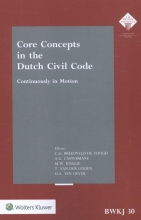 M.T.  Beumers Core concepts in the Dutch civil code