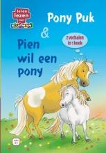 Annemarie Dragt Nicolle Christiaanse, Pony Puk & Pien wil een pony