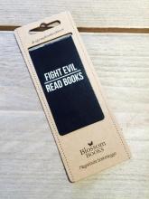 Fight evil, read books. Blossom boekenlegger set 8 stuks