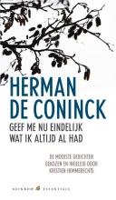 Herman de Coninck Rainbow essentials Geef me nu eindelijk wat ik altijd al had