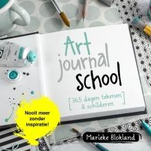Marieke  Blokland Art journal school