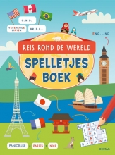 Philippe  Eliasse Reis rond de wereld spelletjesboek
