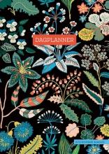 ZNU , Dagplanner - Floral Black