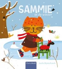Anita  Bijsterbosch Sammie in de winter