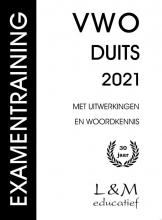 Mj Rozemond Mt Janssens, Examentraining Vwo Duits 2021