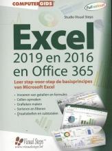 Studio Visual Steps , Computergids Excel 2019, 2016 en Office 365