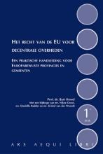 Bart Hessel , Het recht van de EU voor decentrale overheden