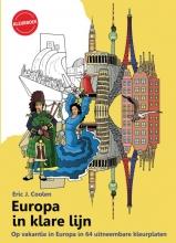 Eric Coolen , Europa in klare lijn kleurboek