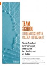 An Buckinx Wouter Schelfhout  Pieter Sprangers  Gert Vanthournout  Lieke Lochten, Team school