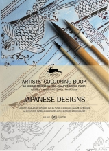 Pepin van Roojen Artists colouring book Japanese designs