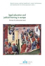 Legal education and judicial training in Europe