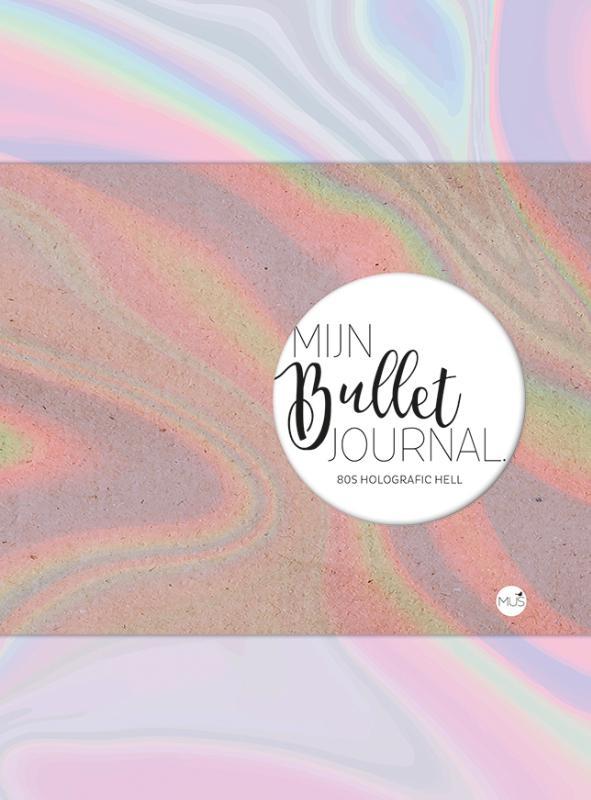,Mijn bullet journal 80s Holografic Hell