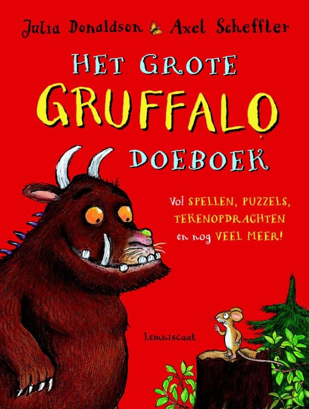 Julia Donaldson,Het grote Gruffalo Doeboek