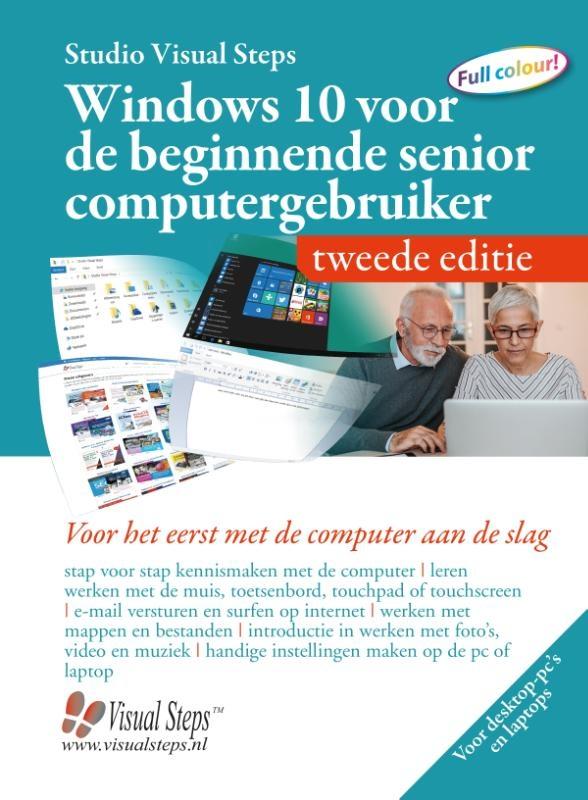 Studio Visual Steps,Windows 10 voor de beginnende senior computergebruiker