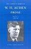 Auden, W. H.,Prose, 1939-1948