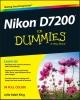 King, Julie Adair,Nikon D7200 For Dummies