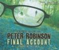 Robinson, Peter,Final Account