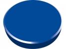 ,magneet Alco 38mm rond doos a 10 stuks donkerblauw