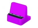 ,Smartphone standaard HAN Smart Line 72x72x74mm New Colour   roze