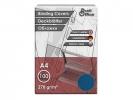,schutbladen ProfiOffice A4 270gr. karton 100 stuks leer     blauw