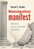 Gustaaf C.  Cornelis,Wetenschapsethisch manifest