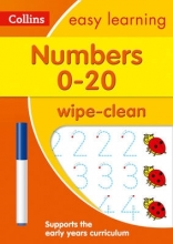 Collins Easy Learning Numbers 0-20 Age 3-5 Wipe Clean Activity Book