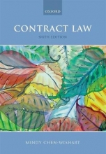 Chen-Wishart, Mindy Contract Law