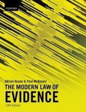 Keane, Adrian,   Mckeown, Paul The Modern Law of Evidence