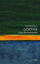 Robertson, Ritchie Goethe: A Very Short Introduction