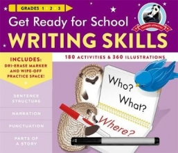 Stella, Heather Get Ready for School Writing Skills