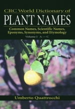 Umberto Quattrocchi CRC World Dictionary of Plant Names