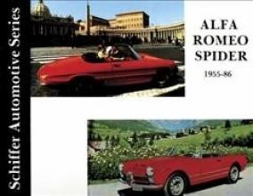 Editors Alfa Romeo Spider 1955-1986